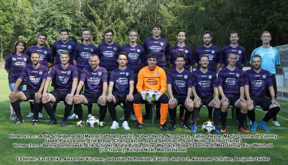 2. Männermannschaft SG Empor Possendorf