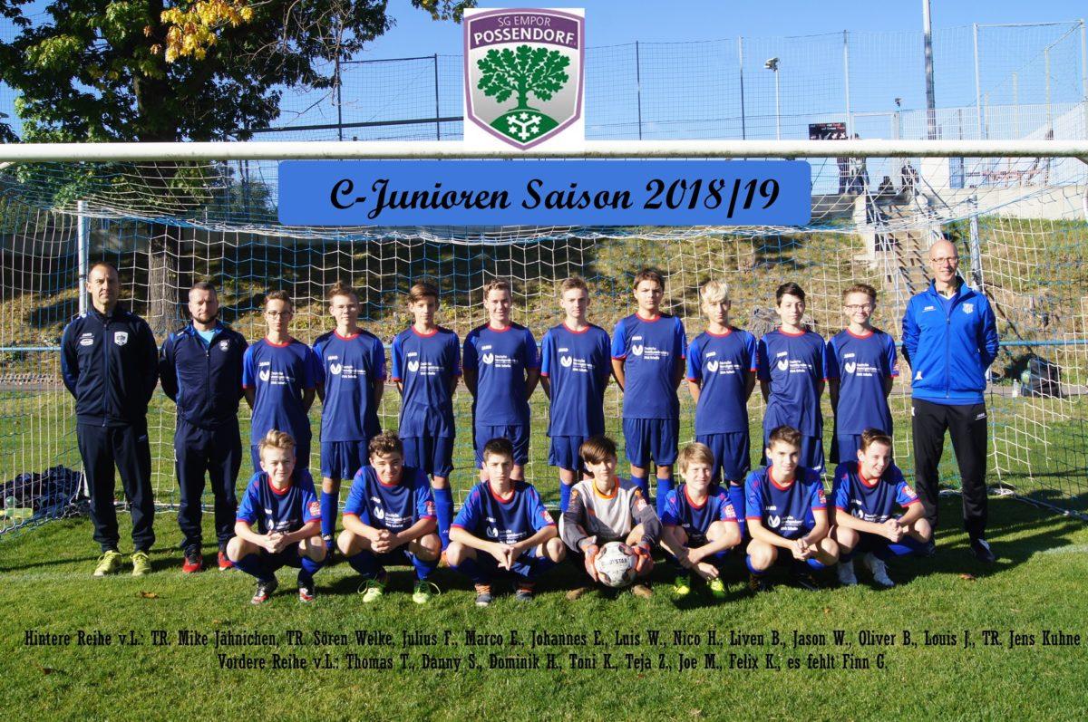 C-Junioren SG Empor Possendorf