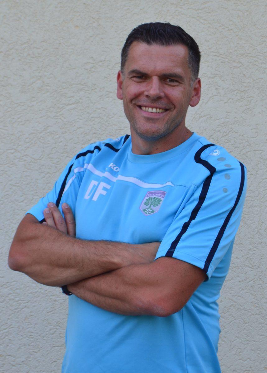Trainer David Funke