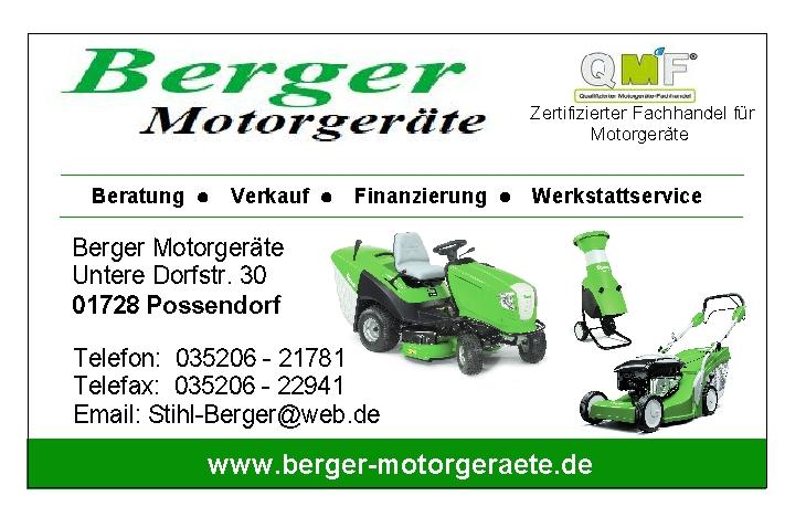 Berger Motorgeräte