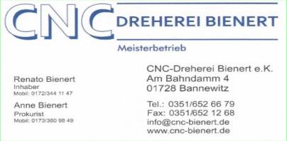 CNC Dreherei Bienert