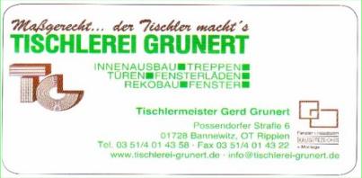 Tischlerei Grunert