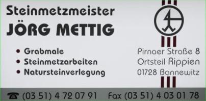 Steinmetzmeister Jörg Mettig