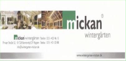 Mickan Wintergärten