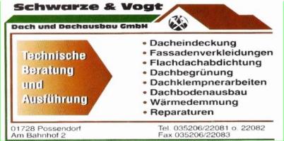 Dachdecker Schwarze & Vogt
