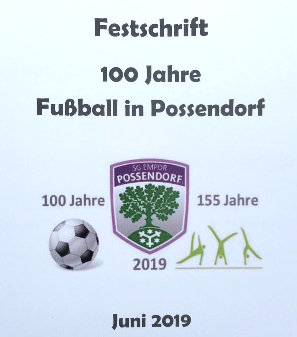 Festschrift 100 Jahre Fußball in Possendorf