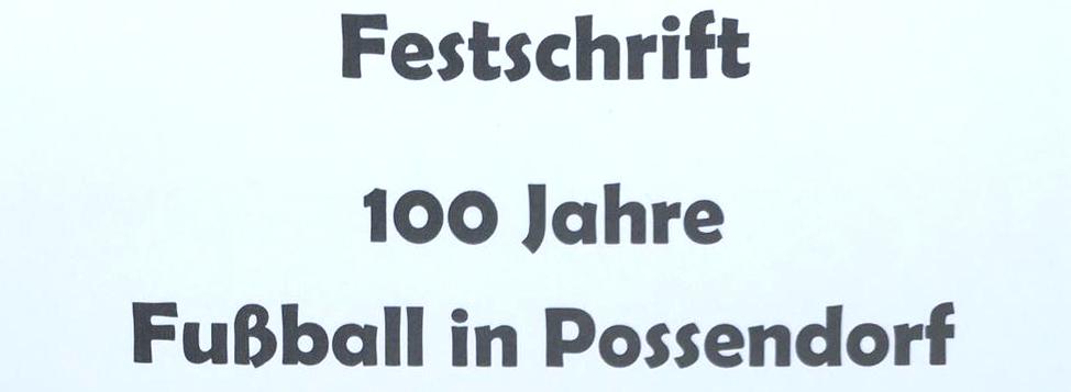 Festschrift 100 Jahre Fußball