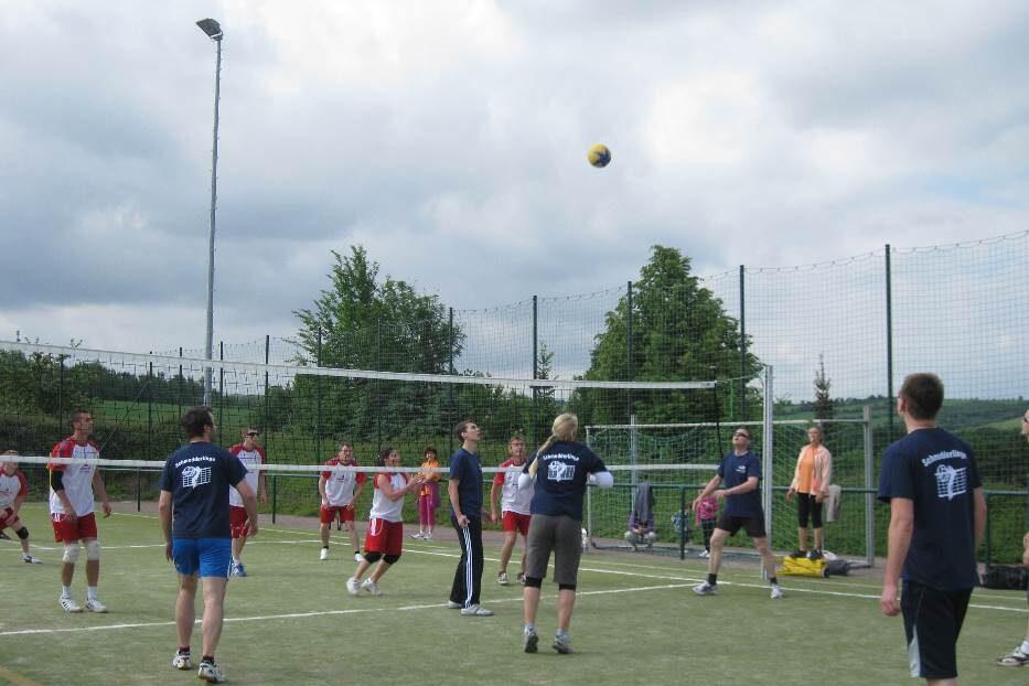 Dorfturnier Volleyball